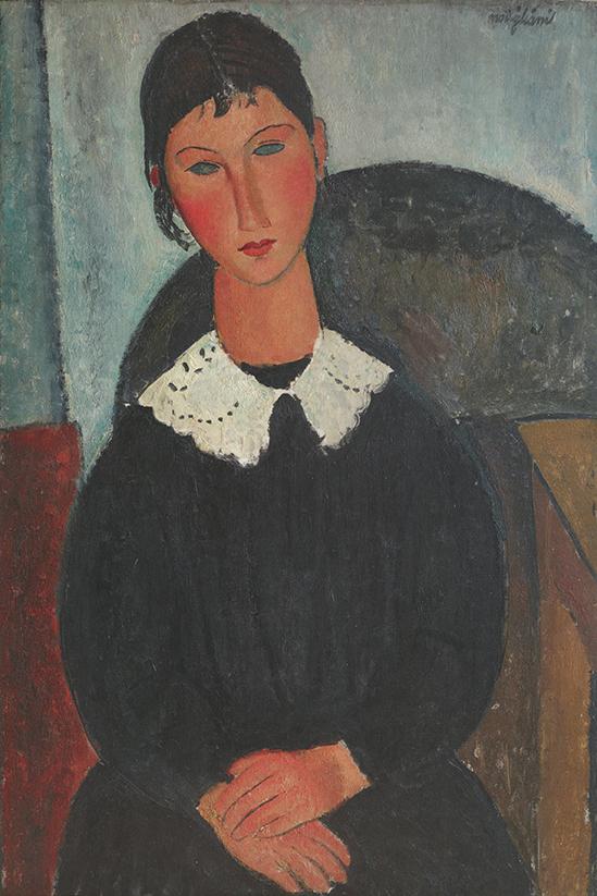 Maledetto Modigliani, il documentario immagine di un quadro di modigliani