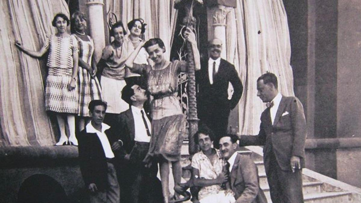 I Leoni di Sicilia foto famiglia florio nella bell'epoque
