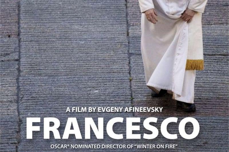 Papa Francesco unioni gay immagine della locandina del cocumentario