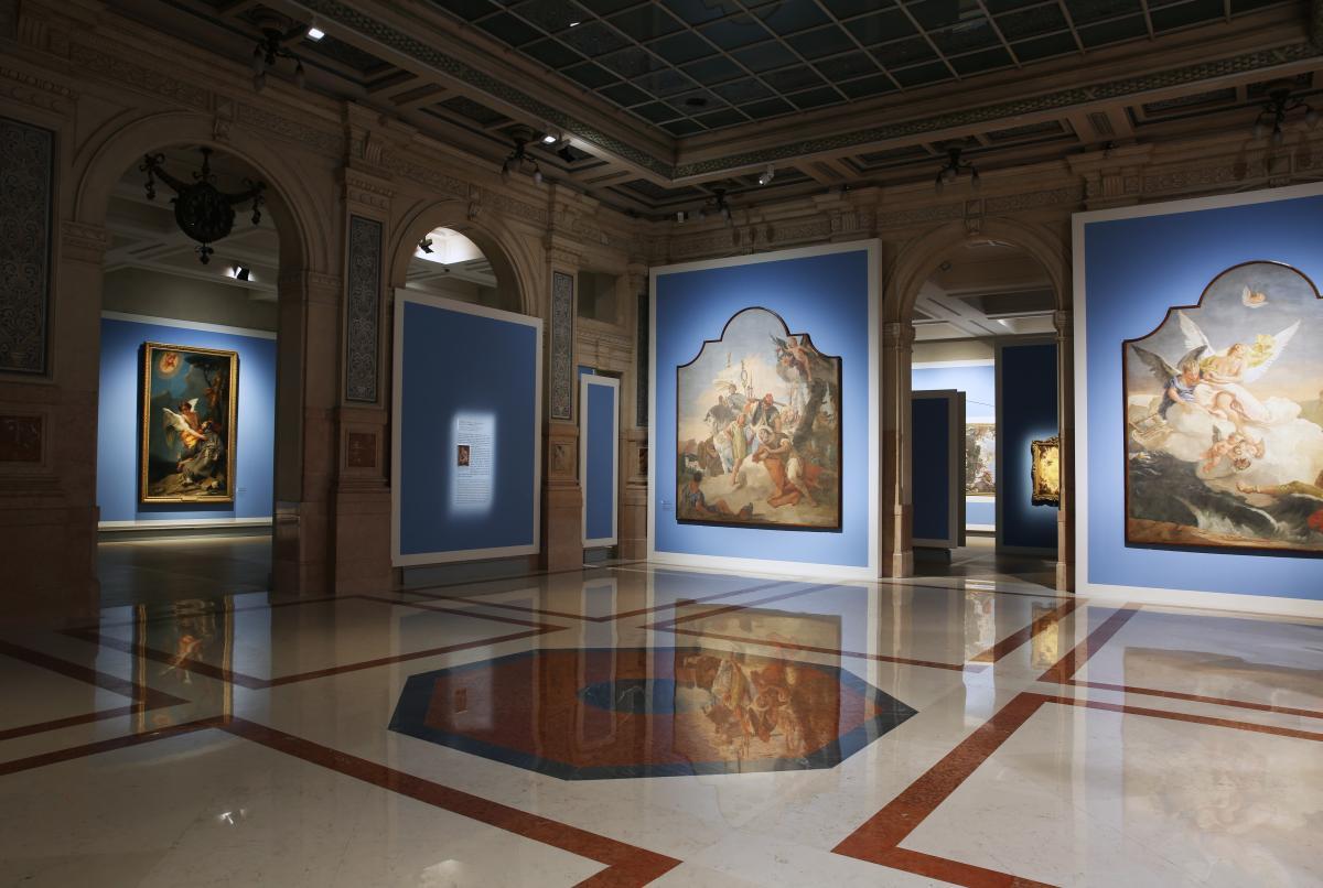 Tiepolo. Venezia, Milano, l'Europa allestimento alle Galleria d'Italia Milano
