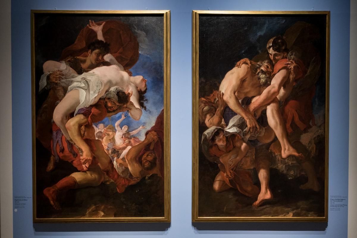 Tiepolo. Venezia, Milano, l'Europa due opere