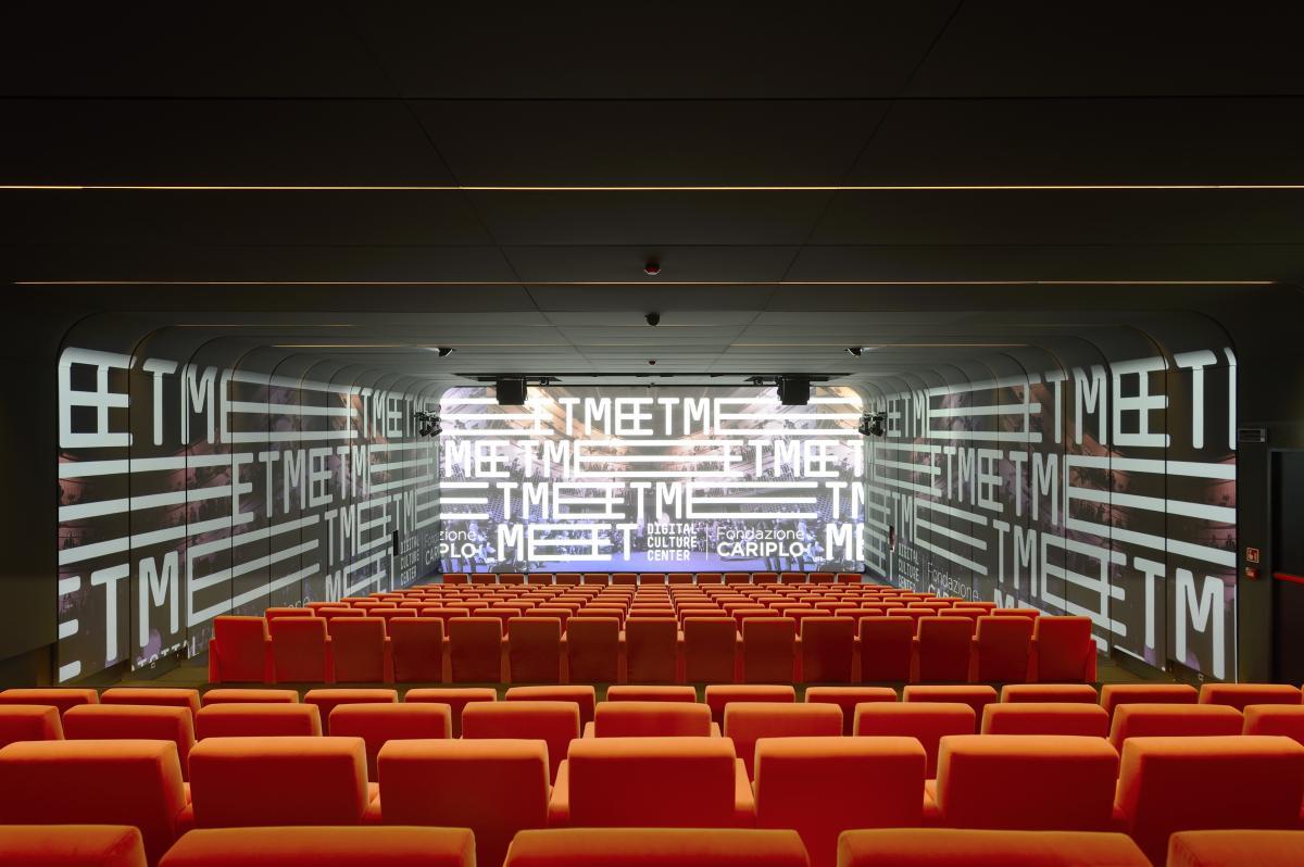 MEET cultura digitale sala proiezione
