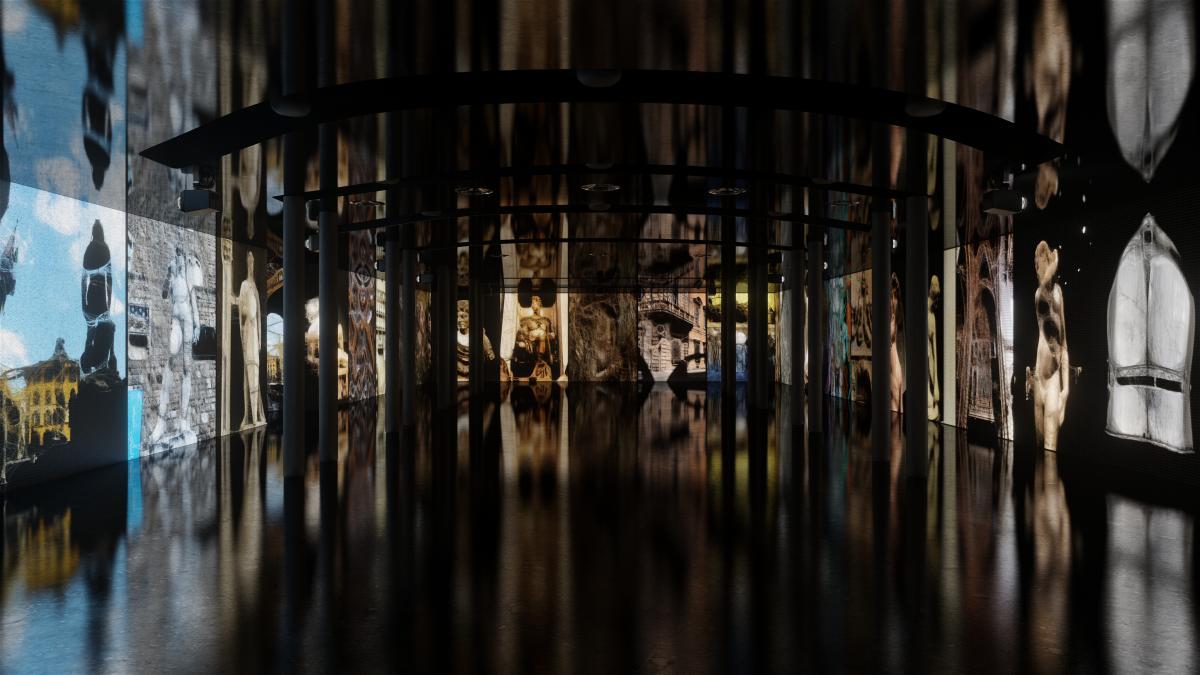 MEET cultura digitale proiezione immersiva