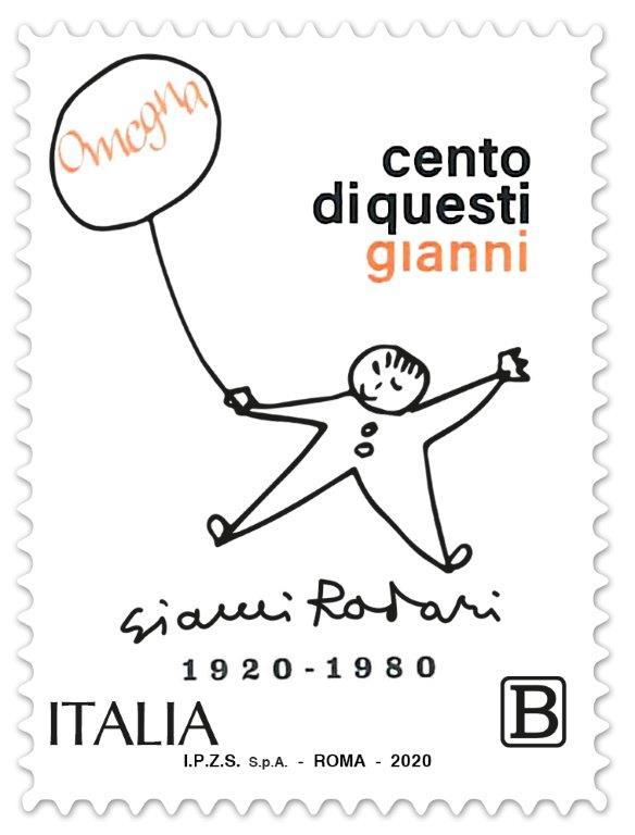 Gianni Rodari Google gli dedica il doodle il nuovo francobollo di Poste italiane