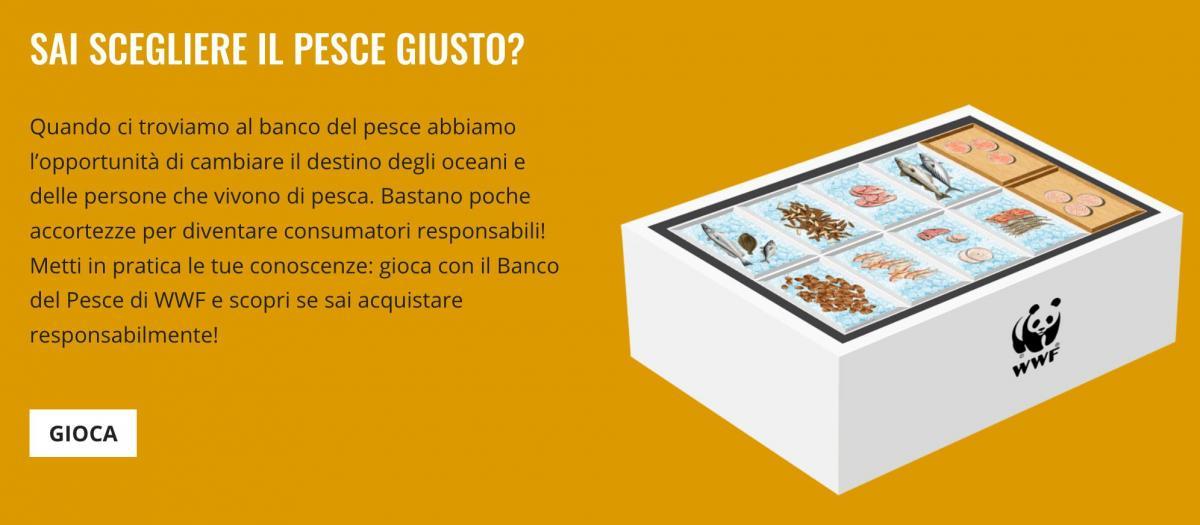 """Maccio Capatonda """"vittima"""" del WWF immagine della guida del wwf per sensibilizzare sul consumo del pesce"""