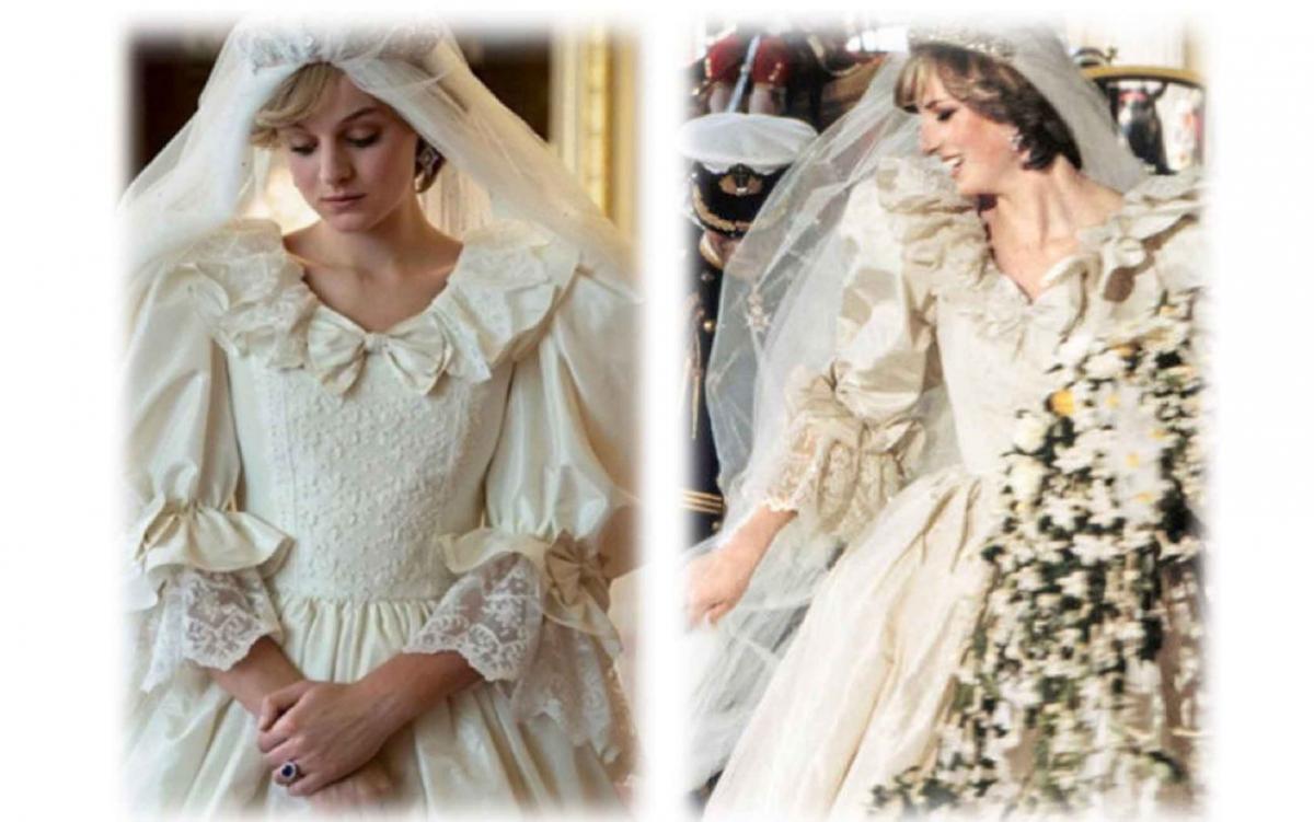 The Crown: Emma Corrin diventa Diana confronto della somiglianza tra l'attrice e la vera lady diana