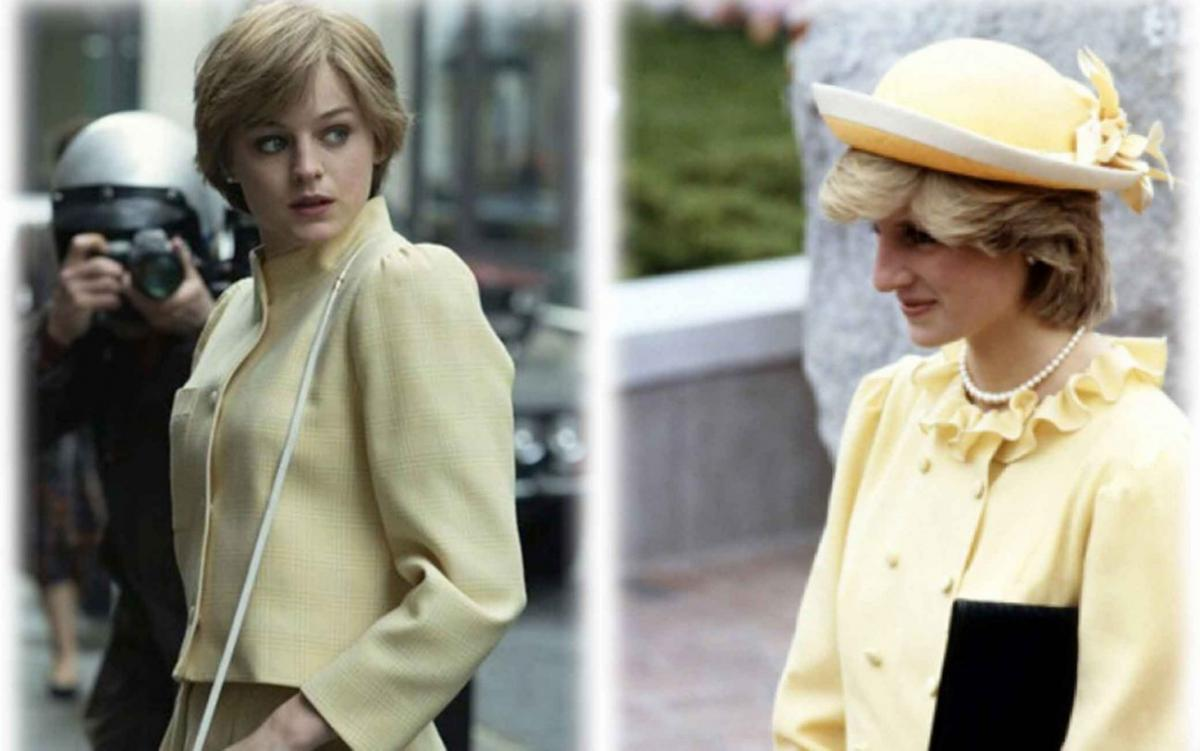 The Crown: Emma Corrin diventa Diana, confronto tra diana e l'attrice