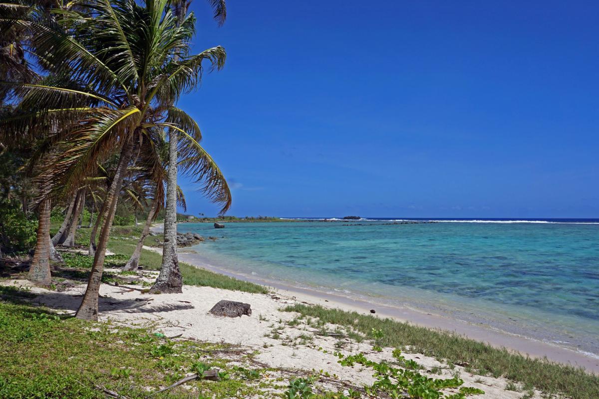 La grandiosa natura degli Stati Uniti, Warinthe Pacific, Asan Beach