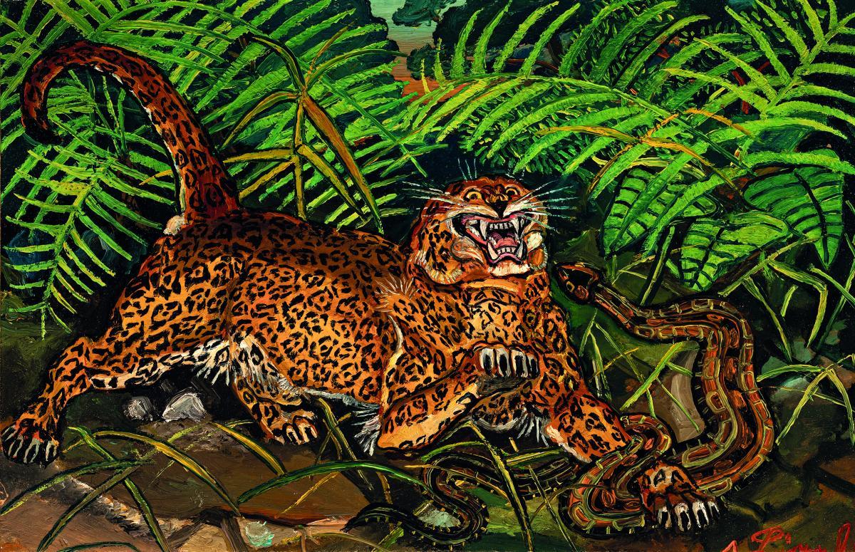 Antonio Ligabue leopardo