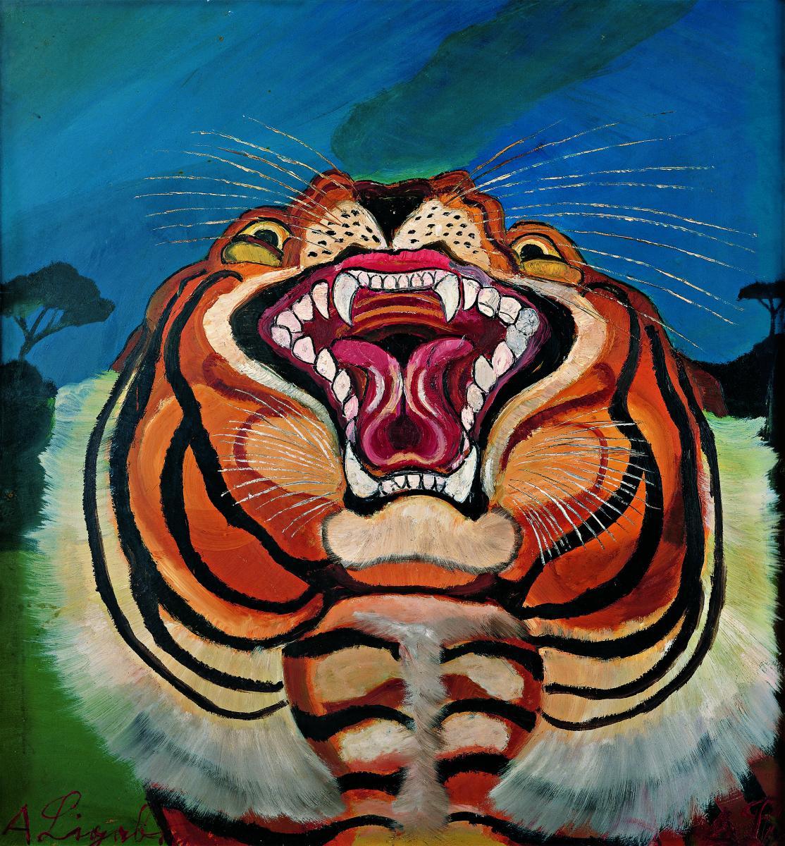Antonio Ligabue tigre