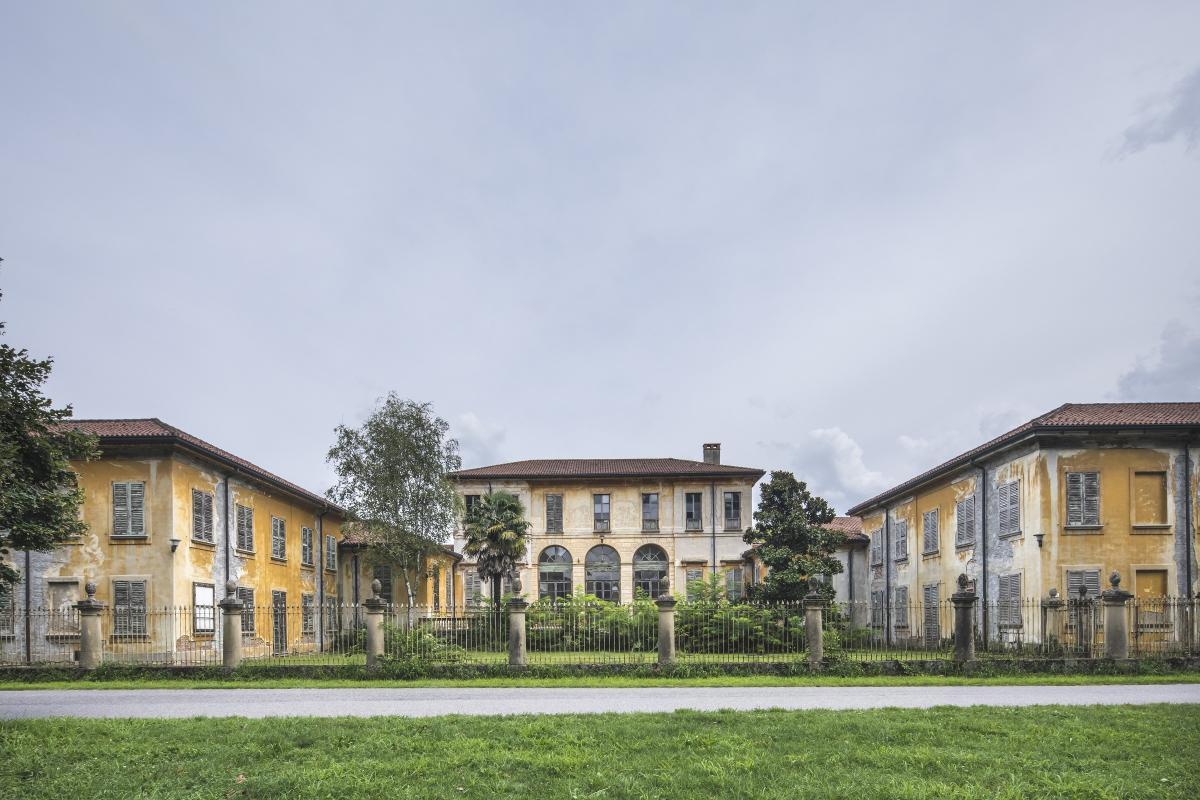 luoghi del cuore FAI Villa Mirabellino esterno e giardino panoramica