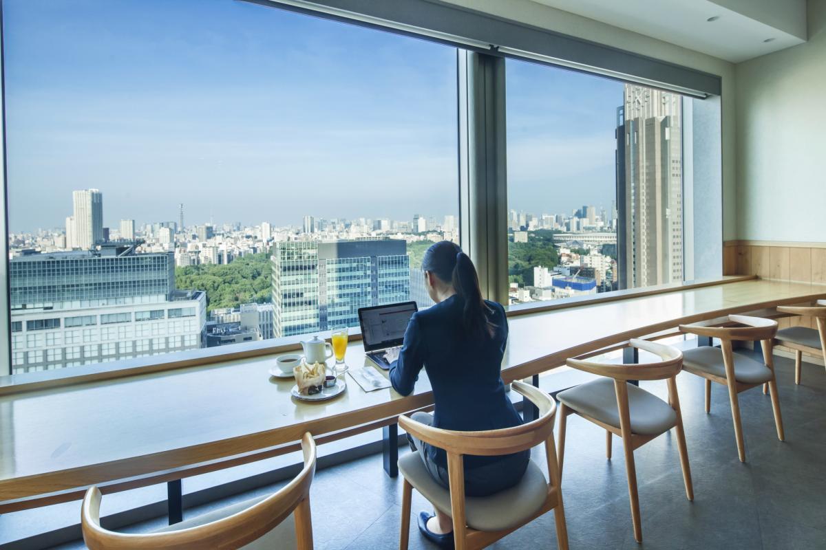 smart working tokyo vista panoramica