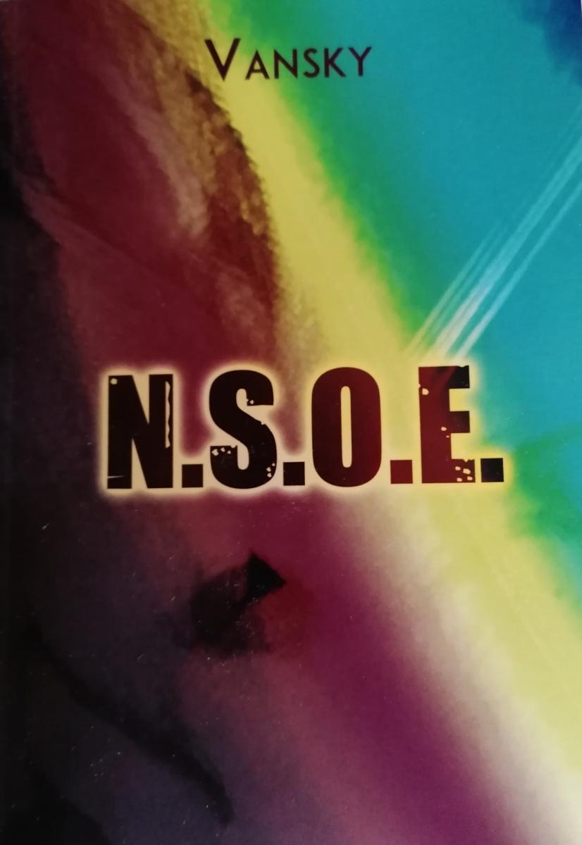 """""""N. S. O. E."""" il romanzo di Vansky copertina"""