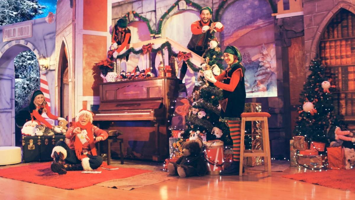 calendario dell'avvento interattivo via streaming gli elfi di Babbo Natale