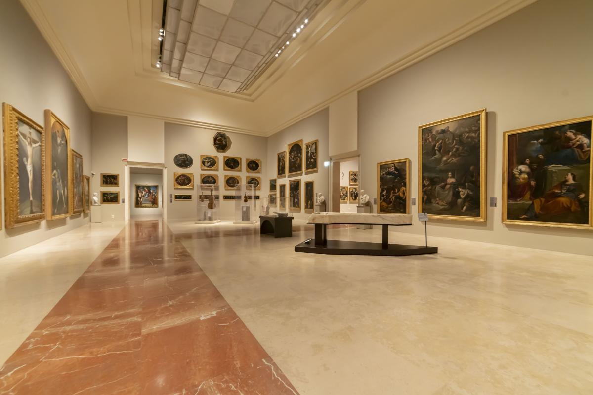 Gallerie Estensi sala con opere