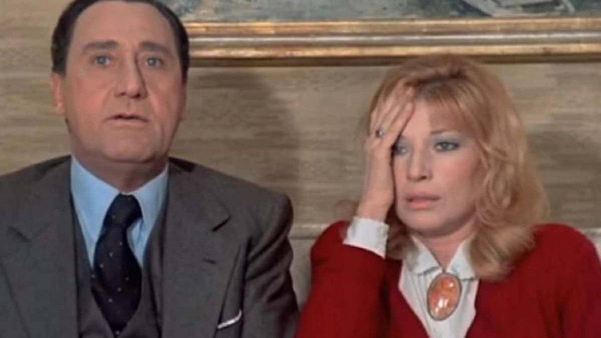Monica Vitti con Alberto Sordi