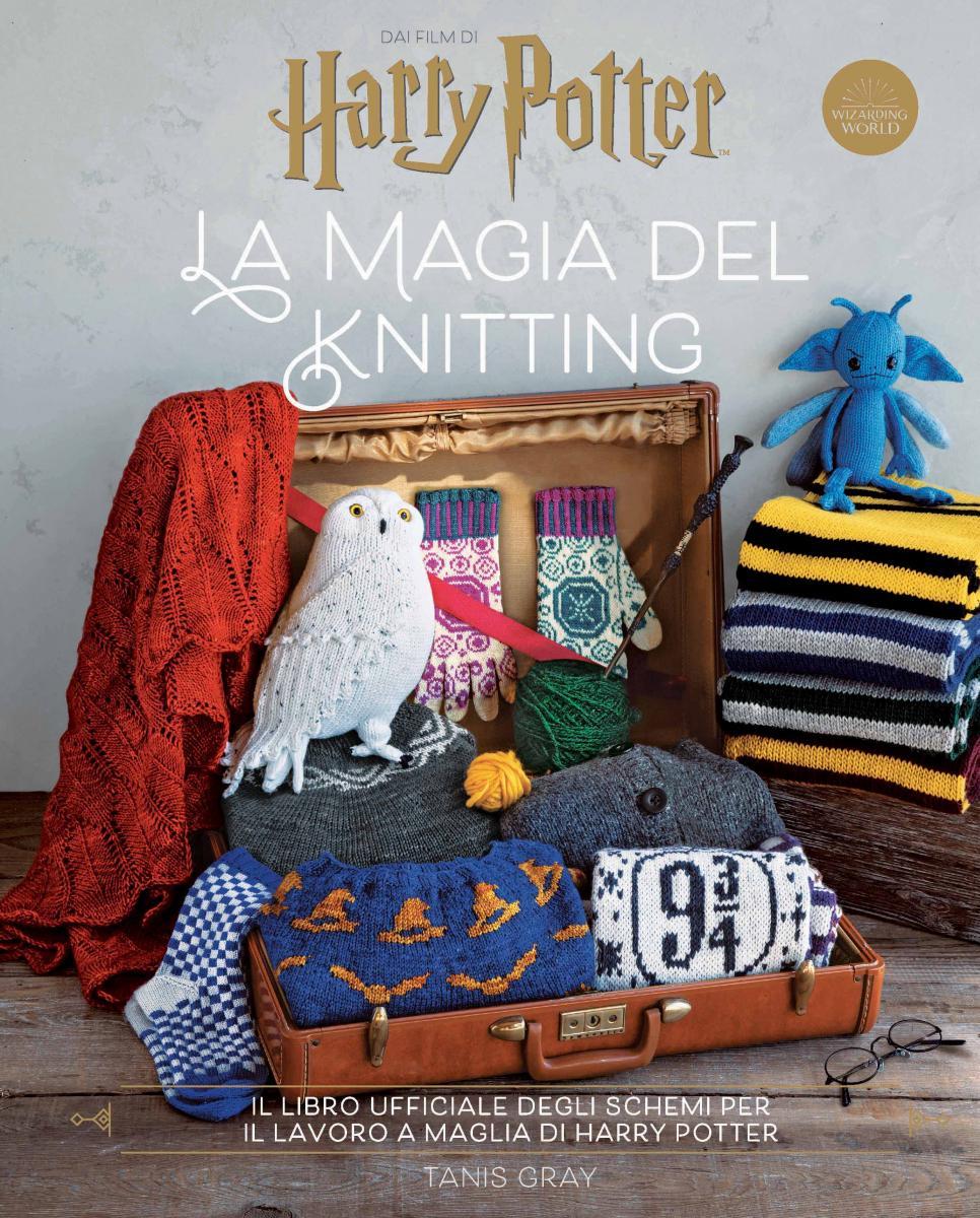 Harry Potter la magia del knitting copertina libro