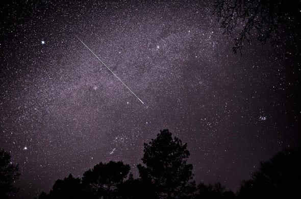 Arrivano le stelle cadenti di novembre immagine in notturna delle stelle