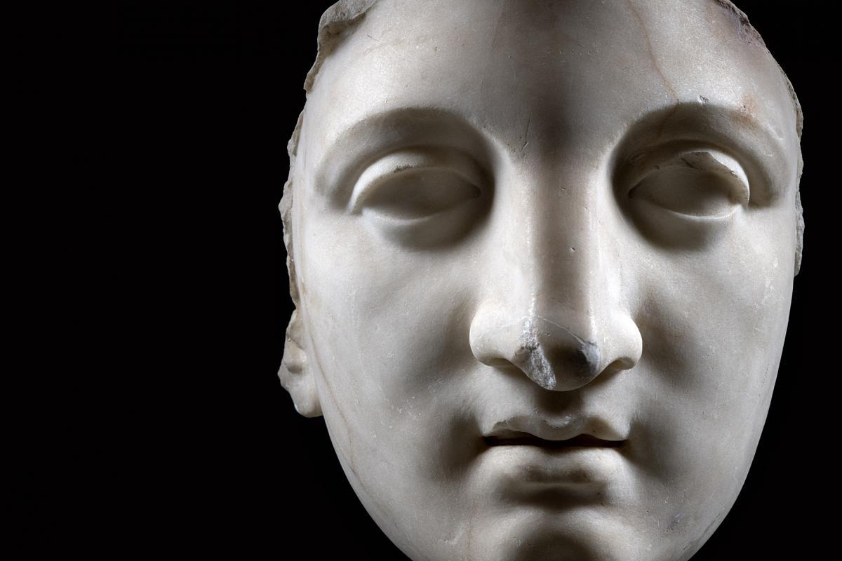 Sette statue per sette giorni Protome di Giunone
