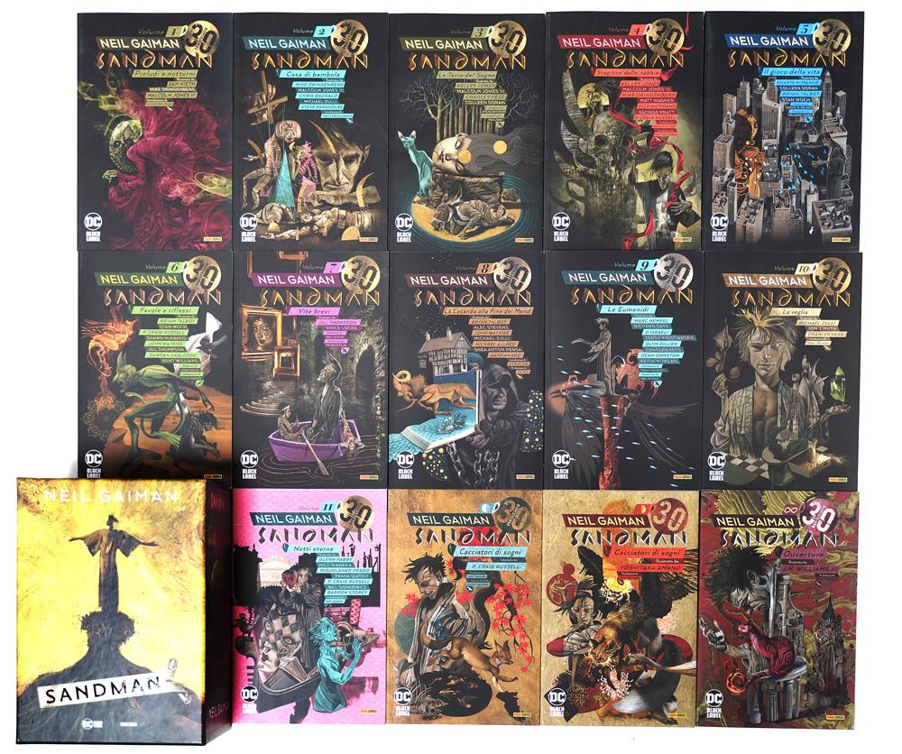 Sandman Library tutti i fumetti
