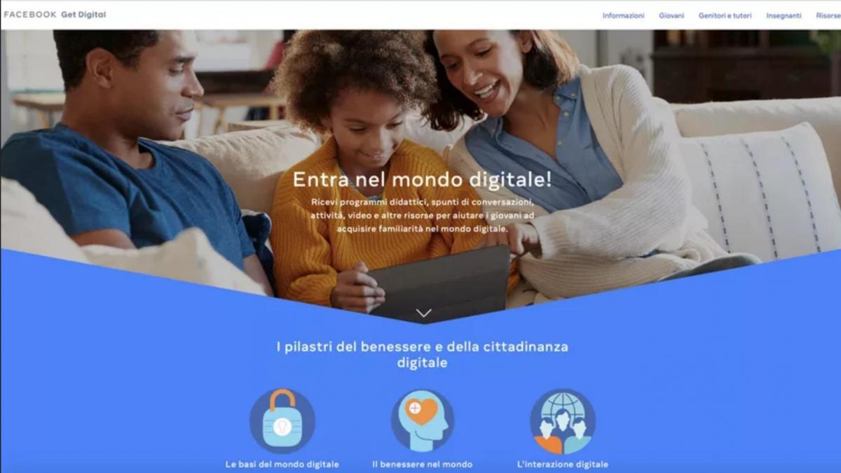 Facebook contro cyberbullismo homepage
