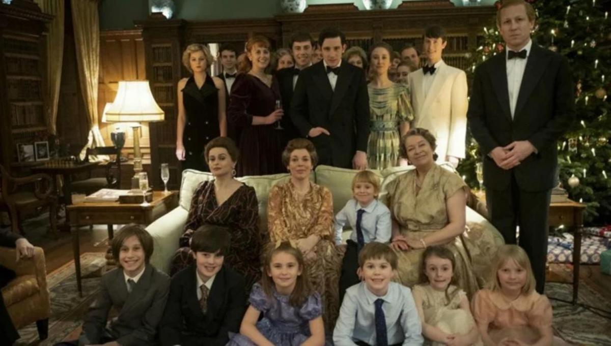 The Crown foto di famiglia