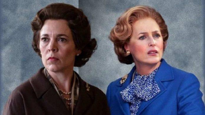 The Crown Famiglia Reale Elisabetta Thatcher