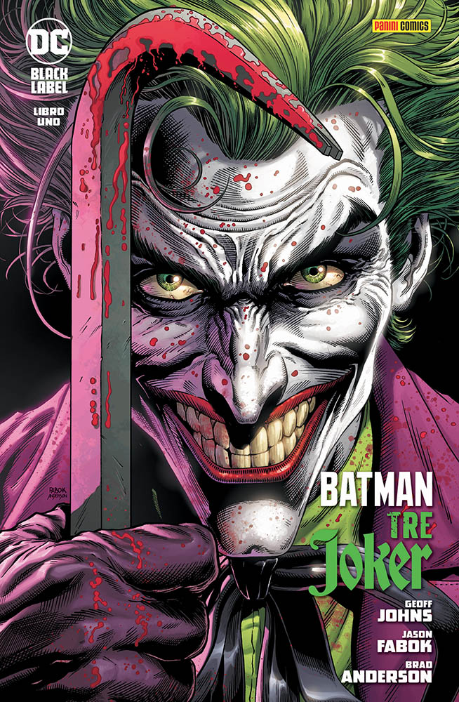 Batman - Tre Joker cover fumetto
