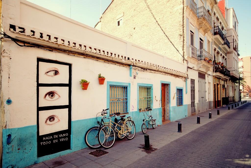Valencia Barrio El Cabanyal