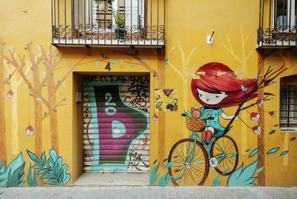 Valencia Street-art