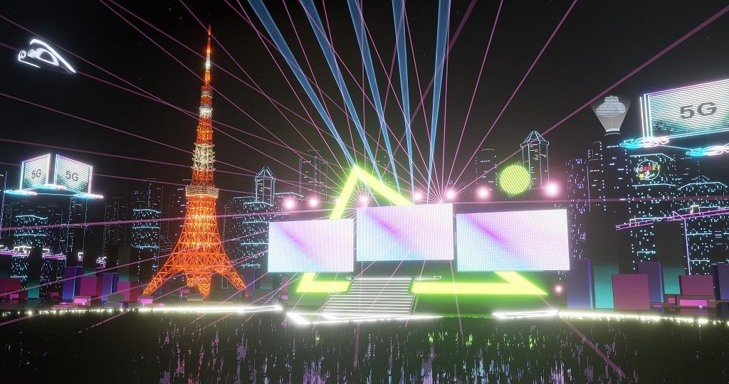 Virtual Tokyo Tower vista della torre