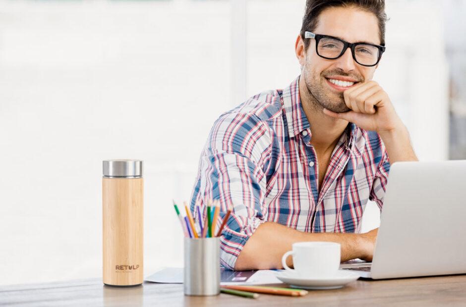 Pensoinverde l'eCommerce dedicato alla Sostenibilità Bamboo Thermos