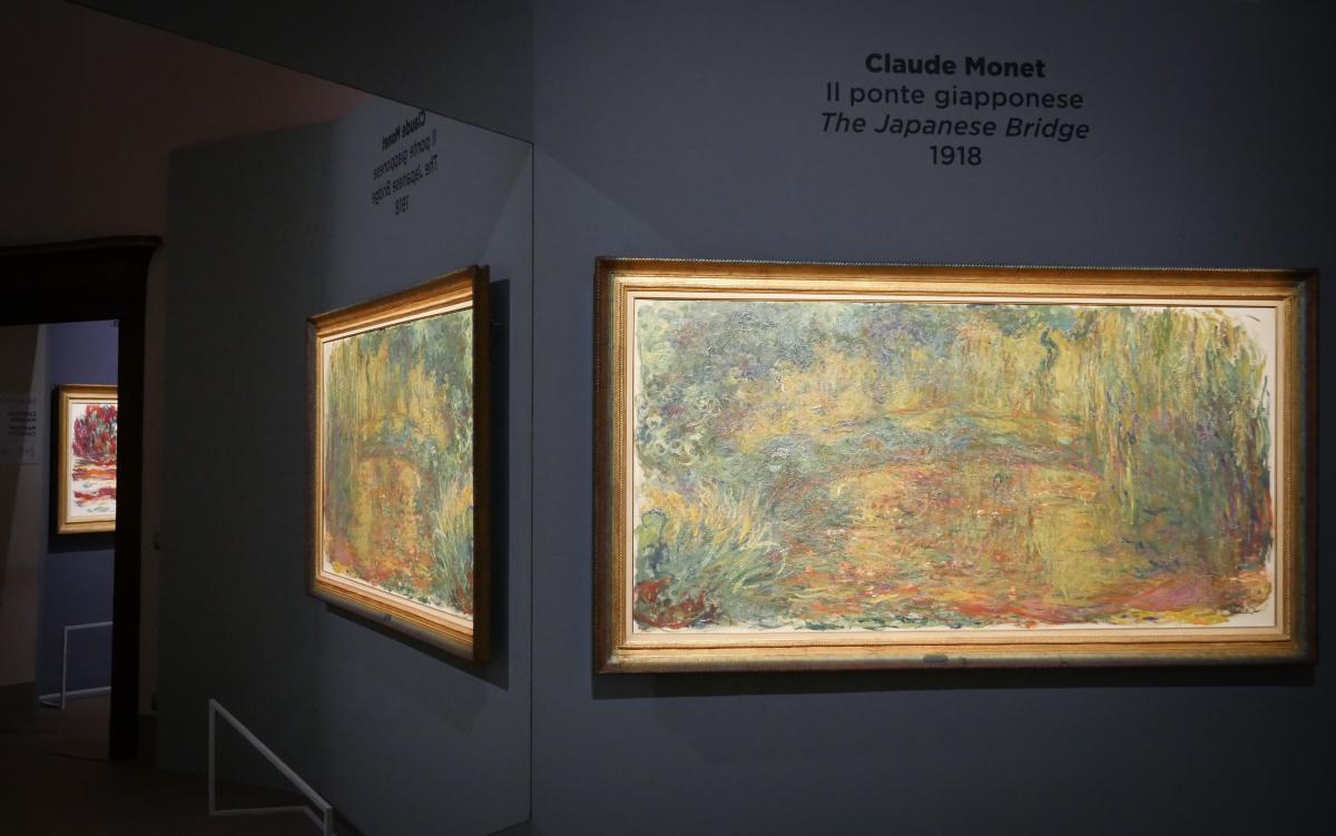 Natale con Monet allestimento mostra
