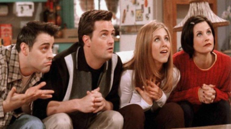 Friends resterà su Netflix una scena della serie tv