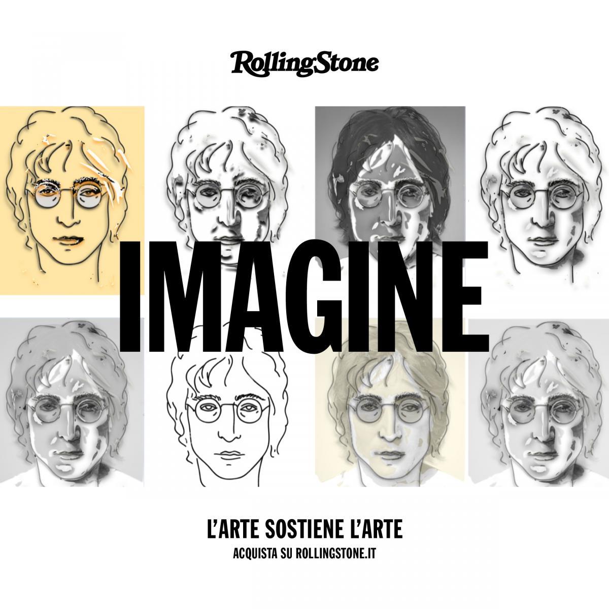 opera ispirata a John Lennon copertina iniziativa