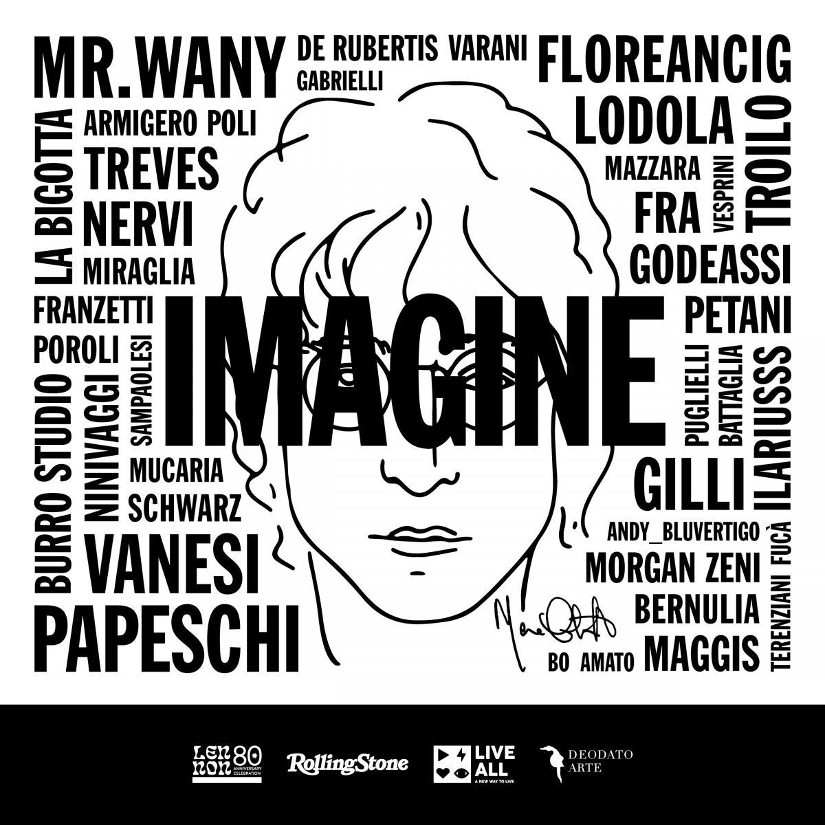 opera ispirata a John Lennon iniziativa Rolling Stone