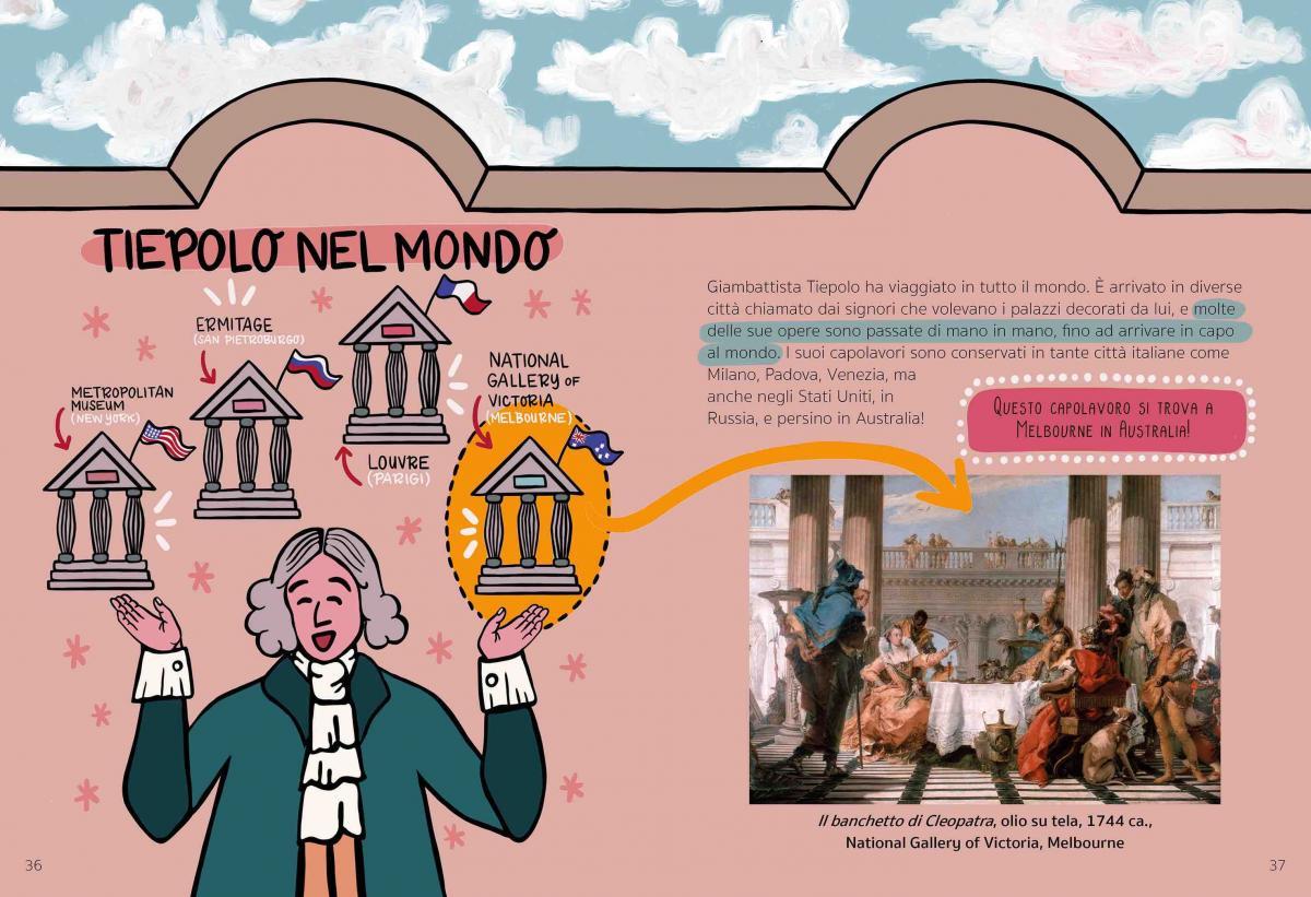 Giambattista Tiepolo scheda interna del libro