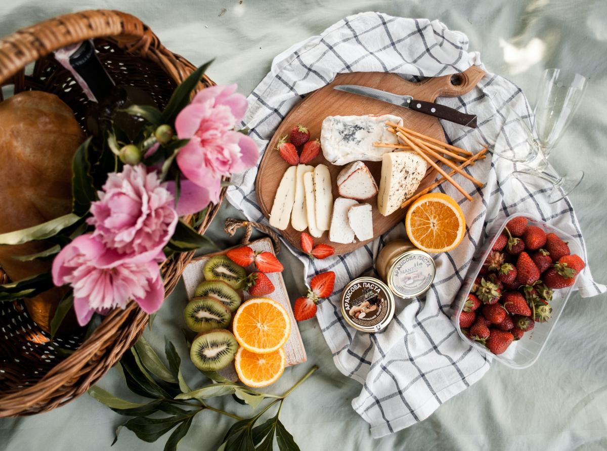 Picnic Chic cibi per il picnic