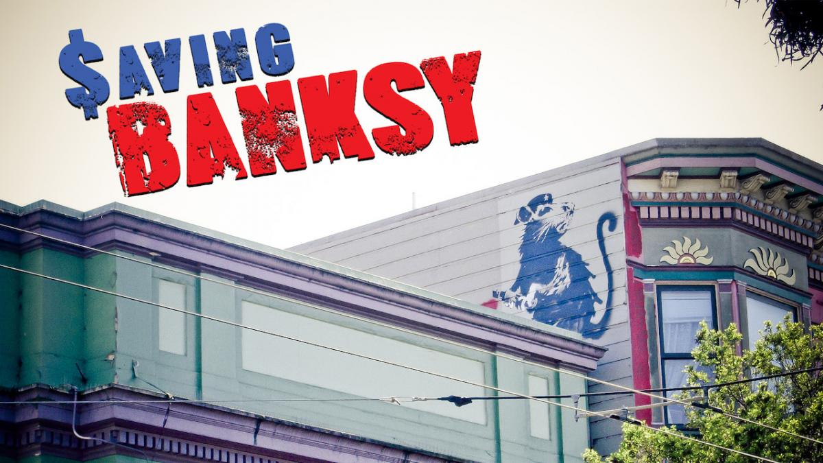 documentari Arte streaming saving banksy