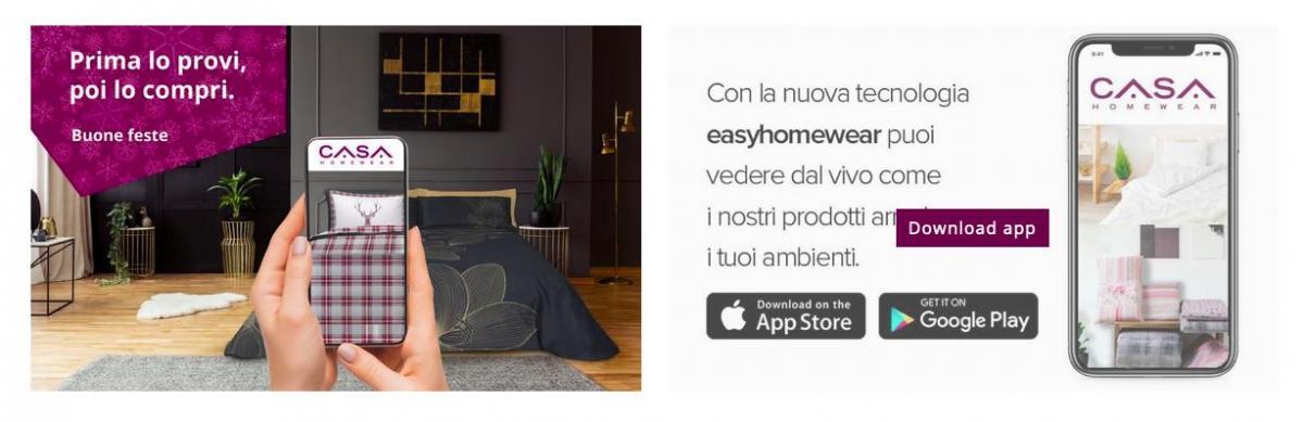 Natale 4.0 con l'app CASAhomewear app