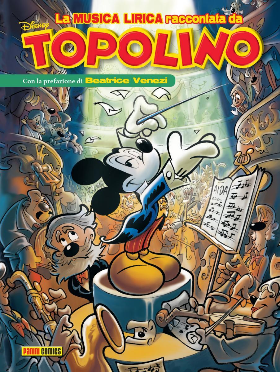 Topolino Giuseppe Verdi copertina fumetto