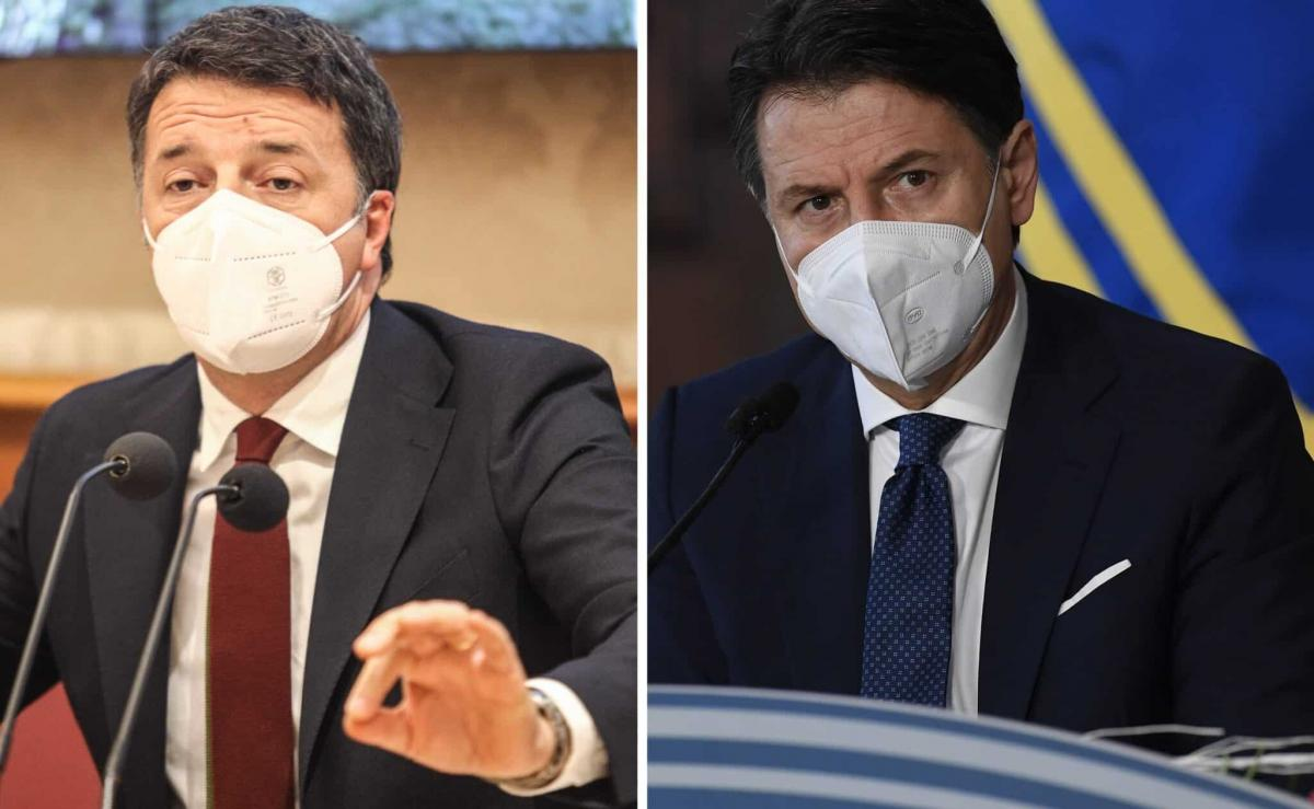 crisi di governo Matteo Renzi Giuseppe Conte