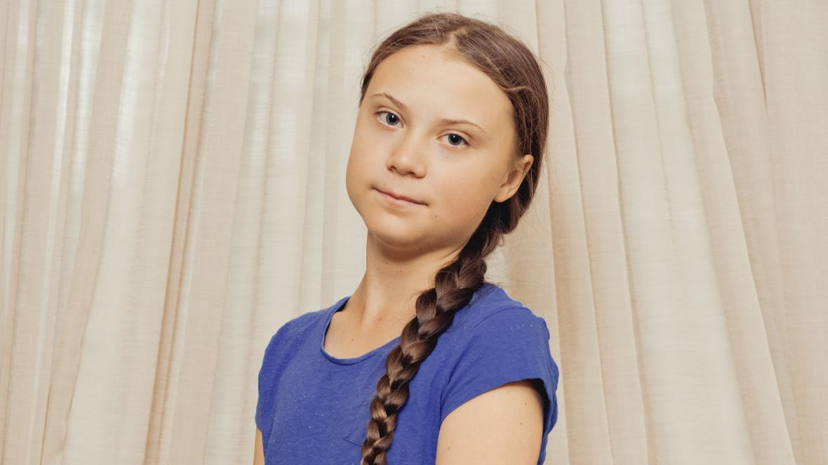 Greta Thunberg ha compiuto 18 anni ritratto