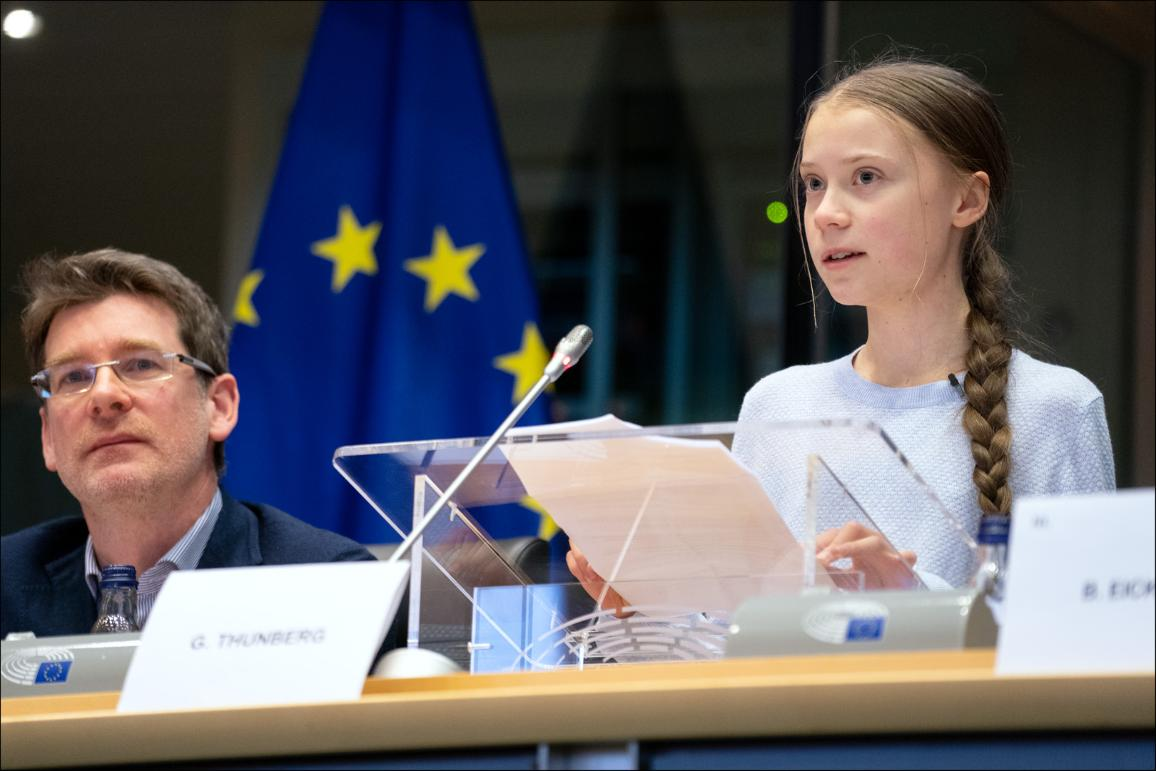 Greta Thunberg ha compiuto 18 anni alle nazioni unite