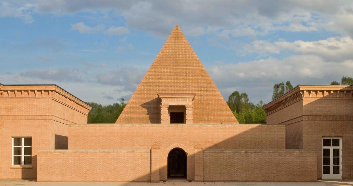 Franco Maria Ricci ingresso Labirinto della Masone