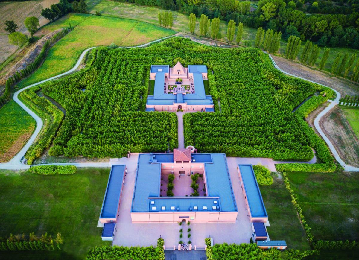 Labirinto della Masone vista aerea
