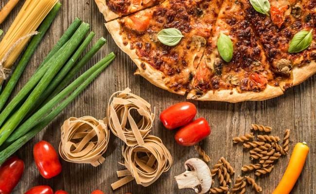 Benessere a tavola pasta e pizza