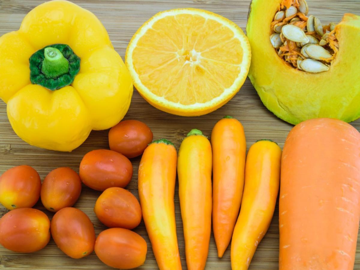 Benessere a tavola carotenoidi