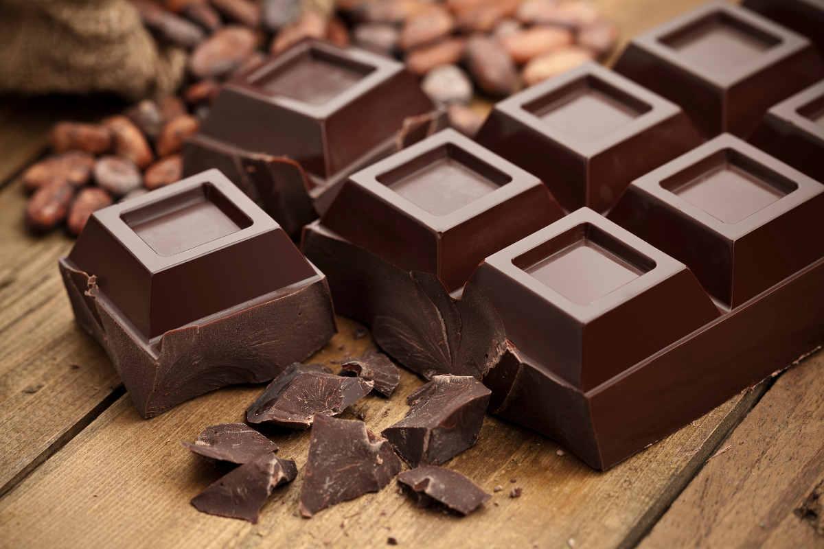 Benessere a tavola cioccolato
