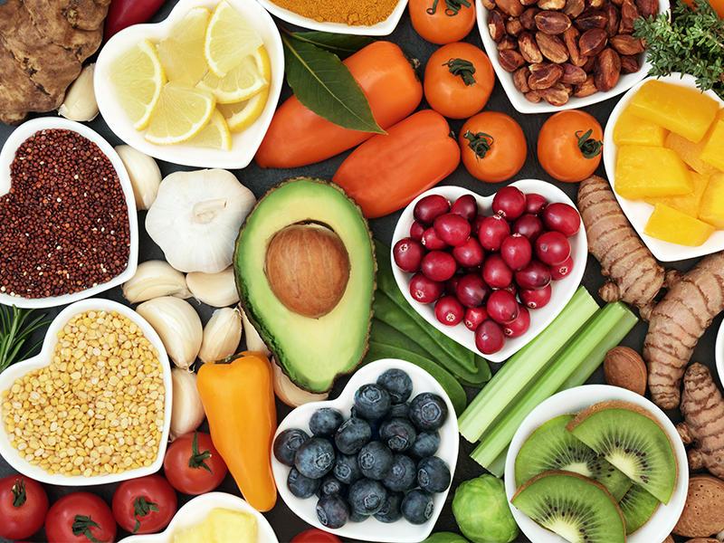 Benessere a tavola alimenti naturali